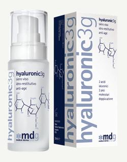 Siero viso idro-restitutivo anti-age hyaluronic3g