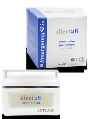 Crema viso dermocosmetica anti-age dieci28